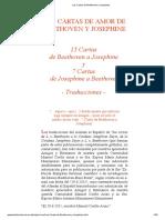 Las Cartas de Beethoven y Josephine