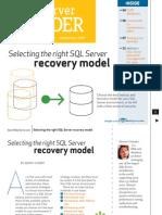 SQLServer recoverystrategies