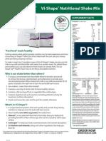 Vi-Shape Sell Sheet