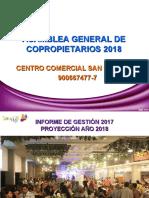 DIAPOSITIVAS ASAMBLEA 2018