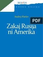 ANDREJ PARŠEV - Zakaj Rusija ni Amerika