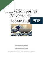 Una vision por las 36 vistas del Monte Fuji