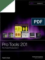 Pro Tools 201 contenidos