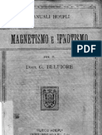 Magnetismo E Ipnotismo Del Dott Giulio Belfiore