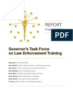 Report, Governor's Task Force on Law Enforcement Training (1)