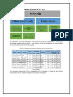 Determinación de Los Elementos Del Modelo