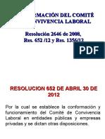 COMITE DE CONVIVENCIA LABORAL