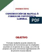 CÓDIGO O MANUAL DE CONVIVENCIA LABORAL