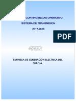 PCO Transmision 2017 2018