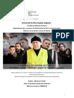 Mémoire de 1ere année info-com, 2019