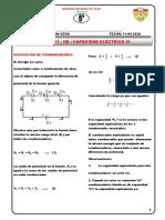 Quinto - Física II- Sesión 01 - Iib - Capacidad Eléctrica III Asociación de Capacitores
