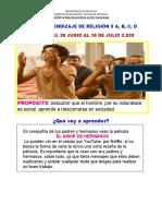 GUIA  # 7y 8 DE    TRABAJO D RELIGION GRADOS 5°A,B,C,D