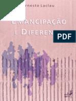 LACLAU, Ernesto. Emancipação e Diferença
