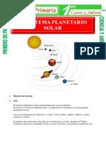 el-sistema-planetario-para-Primero-de-Primaria