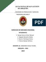 MECANICA-RACIONAL Problemas