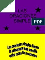 ORACIONES SIMPLES