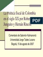 LaHistoriaFiscaldeColombia