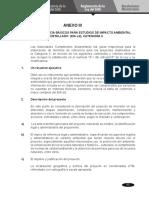 ANEXO 2 Y 3 - REGLAMENTO DEL SEIA - DS 019-2009