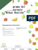 Organigrama de mikuy healthy