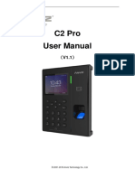 Anviz_C2 Pro_User Manual_V1.1_EN