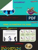 LENGUAJE CUARTO FONÉTICA Y FONO
