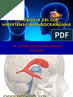 CLASE 3 - FISIOLOGÍA DEL LCR E HIPERTENSIÓN ENDOCRANEANA 2020-I