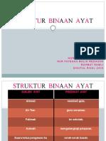STRUKTUR BINAAN AYAT 1
