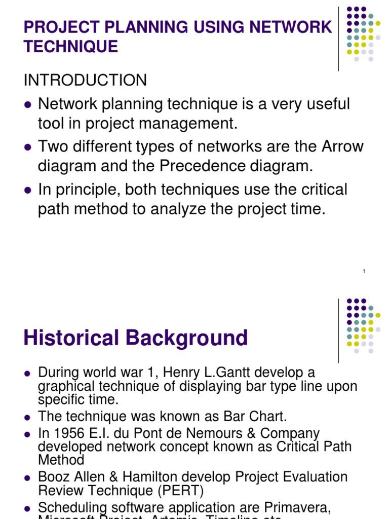 network planning techniques