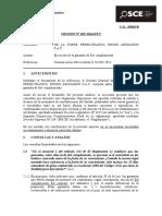 015-14 - PRE - DE LA TORRE-PEREZ FRANCO, DROMI ABOGADOS S.A.C. -  T.D. Nº 4245719