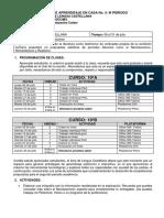 10° CASTELLANO- PAC TERCER PERIODO- JULIO 6