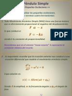 Péndulo Simple - Antonio Herrera Escudero