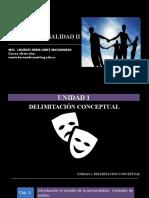 CAP 1- INTRODUCCIÓN AL ESTUDIO DE LA PERSONALIDAD UNIDADES DE ANÁLISIS