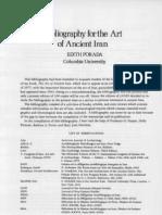 Porada Iranian Art Bibliography
