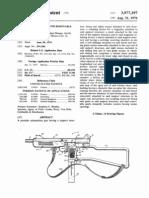 3977297 Sub Machine Gun With Removable Gu