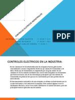 Controles elctricos industriales