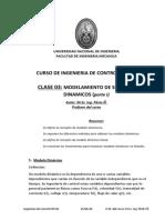 clase 03, parte 1, MODELAMIENTO DE SISTEMAS DINAMICOS control MT221