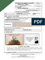 GUIA 4_10 EL TEXTO Y SUS CLASES