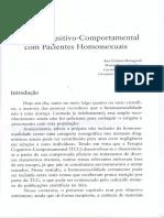 TCC para pacientes homossexuais