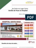 FLUXOS DO PACIENTE HOSP SANTA RITA