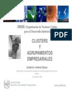 Agrupamientos empresariales y clusters