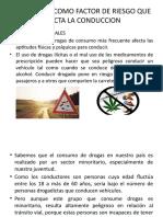 LAS DROGAS COMO FACTOR DE RIESGO QUE AFECTA