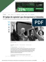 Dictadura de Rojas Pinilla_ 'golpe de opinión' que decepcionó a Colombia - Otras Ciudades - Colombia - ELTIEMPO.COM
