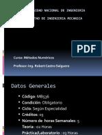 1 Introduccion al Curso de Metodos Numericos.pptx