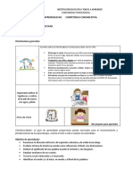 GUÍA DE APRENDIZAJE STS. Educación inicial. ciclo II
