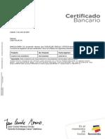 Certificacion Bancaria