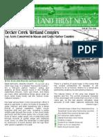 Fall 2009 Capitol Land Trust Newsletter