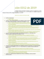 Resolución 0312 de 2019 Actualizada safetya