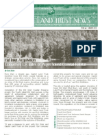 Summer 2010 Capitol Land Trust Newsletter