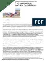 ¿Por qué Malvinas es una causa latinoamericana_ – Por Daniel Filmus - NODAL.pdf