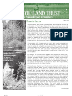 2009 Annual Report Capitol Land Trust